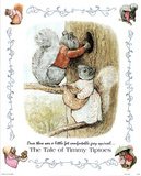 Beatrix Potter Tale of Timmy Tiptoes Art Print POSTER Masterprint