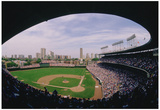 Wrigley Field Chicago Cubs Archival Sports Photo Poster Print Poster