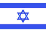 Israel National Flag Poster Print Masterprint