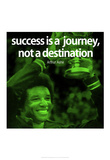 Arthur Ashe Success Quote iNspire Poster Print
