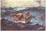 Winslow Homer (Gulf Stream) Art Poster Print Prints