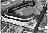 New York Yankees Original Yankee Stadium Aerial 2 Archival Photo Sports Poster Posters