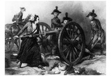 Molly Pitcher (Battle of Monmouth) Art Poster Print Posters