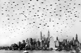 Planes over Manhattan 1931 Archival Photo Poster Print Masterprint