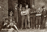 Vermont Mill Boys 1910 Archival Photo Poster Print Masterprint