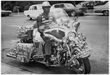 Modified Motorcycle 1972 Archival Photo Poster Prints