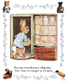 Beatrix Potter Ginger and Pickle Art Print Peter Rabbit Masterprint