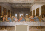 Leonardo Da Vinci (The Last Supper) Art Poster Print  Art Poster Print Masterprint
