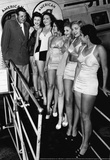 Babe Ruth With Models Archival Photo Poster Print Masterprint