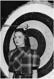 Archery 1939 Archival Photo Poster Print