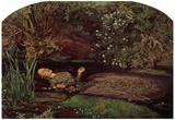 John Everett Millais - Ophelia Art Print Poster Posters
