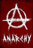 Anarchy Symbol Resistance Poster Masterprint