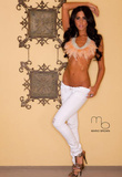Brianna Martinez Standing Photograph Poster Print by Mario Brown Masterprint