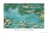 Monet (Water Lilies) Art Print Poster Posters