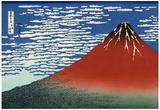 Katsushika Hokusai (Mount Fuji) Art Poster Print Posters