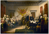 John Trumbull (Declaration of Independence) Art Poster Print Plakater