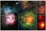 New Views of a Familiar Beauty Nebula Space Photo Art Poster Print Poster