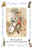 Beatrix Potter Jemima Puddle-Duck Art Print POSTER Fox Print