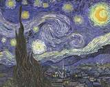 Vincent Van Gogh (The Starry Night) Art Poster Print Masterprint