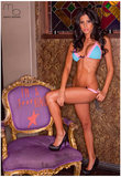 Brianna Martinez in Lingerie Photograph Photo Poster by Mario Brown Posters