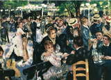 Pierre Auguste Renoir (Ball at the Moulin De La Gallette) Art Poster Print Masterprint