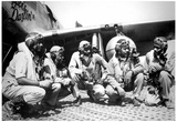 Tuskegee Airmen 332nd Fighter Group Archival Photo Poster Posters