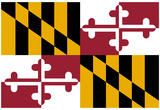 Maryland State Flag Poster Print Prints