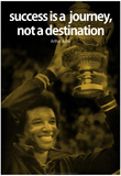 Arthur Ashe Success Quote iNspire Poster Poster