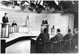 John F Kennedy (Debating Richard Nixon) Art Poster Print Photo