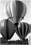 Brandon Balloon Festival Archival Photo Poster Poster