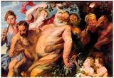 Anthony Van Dyck Triumph of Silenus Art Print Poster Fotografía