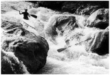 White Water Rafting Archival Photo Poster Print