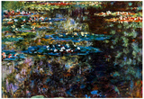 Claude Monet Water Garden at Giverny Art Print Poster Prints