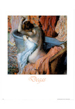 Edgar Degas (Seated Bather Drying Herself ) Art Print Poster Print