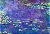 Claude Monet Water Lily Pond 3 Art Print Poster Poster