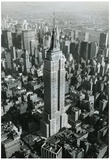 Empire State Building New York City Archival Photo Poster Print Photo