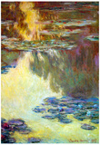 Claude Monet Water Lilies Water Landscape 6 Art Print Poster Posters