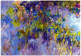 Claude Monet Wisteria Art Print Poster Prints