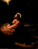 Gethsemane II (Jesus Praying) Art Poster Print Masterprint