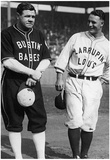 Babe Ruth and Lou Gehrig New York Yankees Archival Photo Sports Poster Print Photo