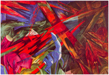 Franz Marc Animal Fates Art Print Poster Posters