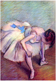 Edgar Degas Dancer 2 Art Print Poster Prints