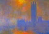 Claude Monet Houses of Parliament Art Print Poster Masterprint