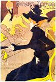 Henri de Toulouse-Lautrec Diva Japonais Art Print Poster Prints