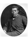 Booker T. Washington (Portrait) Art Poster Print Prints