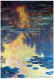 Claude Monet Water Lilies Water Landscape 2 Art Print Poster Prints