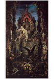 Gustave Moreau (Jupiter and Semele) Art Poster Print Posters