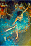 Edgar Degas Dancer Art Print Poster Posters