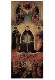 Benozzo Gozzoli (Triumph of St. Thomas Aquinas on Averroes) Art Poster Print Posters