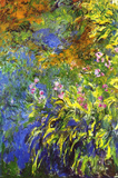 Claude Monet Iris at the Water-Lily Pond 2 Art Print Poster Masterprint
